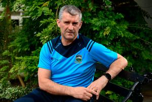 Tipperary manager Liam Sheedy during a press conference at the Horse and Jockey Hotel in Tipperary. Photo: Harry Murphy/Sportsfile