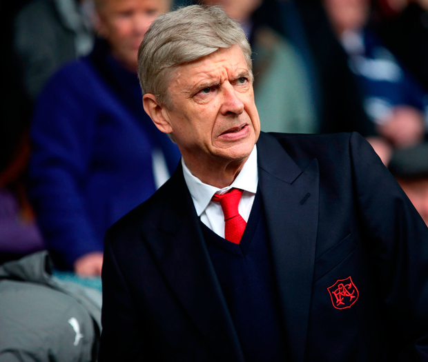 Arsene Wenger: No news. Photo: Nick Potts/PA Wire