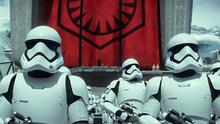 Stormtroopers in Star Wars: The Force Awakens.  Could Daniel Craig be one of them?