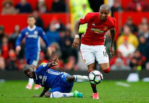 Manchester United utility man Ashley Young wants his side to replicate Sunday's win over Chelsea against Anderlecht in the Europa League on Sunday. Photo: REUTERS