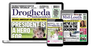 The Drogheda Independent is now available as an ePaper