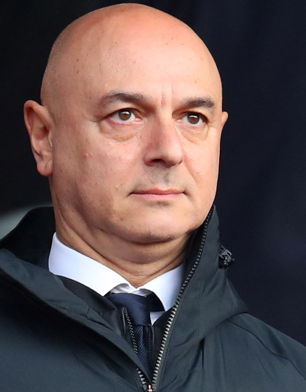 Rather than undertaking a 'painful rebuild' Daniel Levy (pictured) spent money on replacing Pochettino with Mourinho. Photo: Getty Images