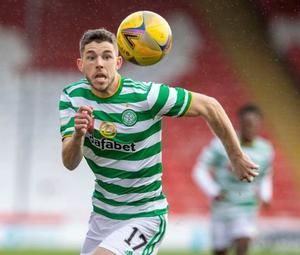 Celtic playmaker Ryan Christie could provide Arsenal with a January boost. Photo: PA
