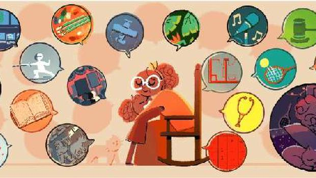 Google Doodle for International Women's Day