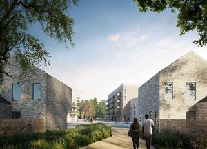 On the way: The development in Shanganagh