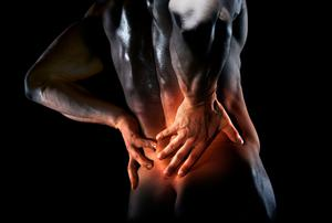 Back pain is typically the person's body being overprotective due to other factors,