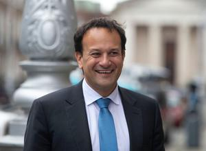 Taoiseach Leo Varadkar after announcing that Fine Gael members have voted in favour of the programme for government agreed with Fianna Fail and the Green Party, in Dublin. Photo: Damien Eagers/PA Wire