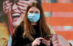 Face mask protection. Photo: AFP via Getty Images