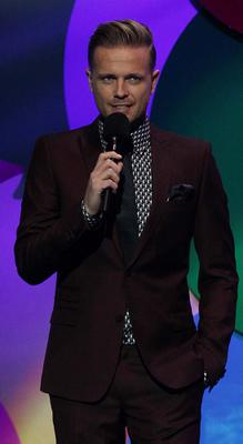 Nicky Byrne pictured presenting the 2013 Cheerios Childline Concert at the O2 Dublin