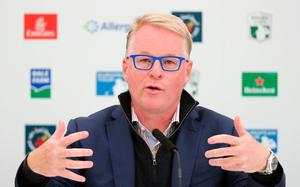 Chief executive of the European Tour Keith Pelley. Photo: Niall Carson/PA Wire
