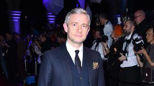 Martin Freeman has two children with former partner Amanda Abbington (Matt Crossick/PA)