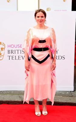 Jessica Hynes arrives for the House of Fraser British Academy of Television Awards at the Theatre Royal, Drury Lane in London. PRESS ASSOCIATION Photo. Picture date: Sunday May 10, 2015. See PA story SHOWBIZ Bafta. Photo credit should read: Ian West/PA Wire