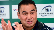 """Connacht coach Pat Lam: """"Whenever you make the decision to leave, the hardest thing is leaving the loved ones behind."""" Photo: Sportsfile"""