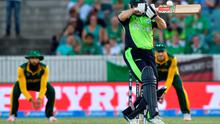 Ireland's Niall O'Brien in action during the 2015 Cricket World Cup Pool B match against South Africa in Canberra.