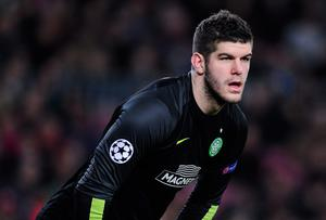 Fraser Forster has set a new club record with his 11th successive clean sheet for Celtic FC