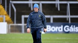 Tipperary manager Liam Sheedy is relishing the chance to take on Limerick. Photo by Piaras Ó Mídheach/Sportsfile