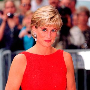 Princess Diana took lingerie posters home for her sons. Photo: Mark Cuthbert/Getty Images