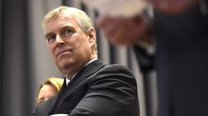Britain's Prince Andrew. Picture: Getty