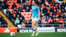 Ireland international Megan Campbell has signed a contract extension at Manchester City