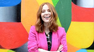 Downtime: Angela Scanlon's new show 'Ask Me Anything' has been delayed.  Photo: Justin Farrelly