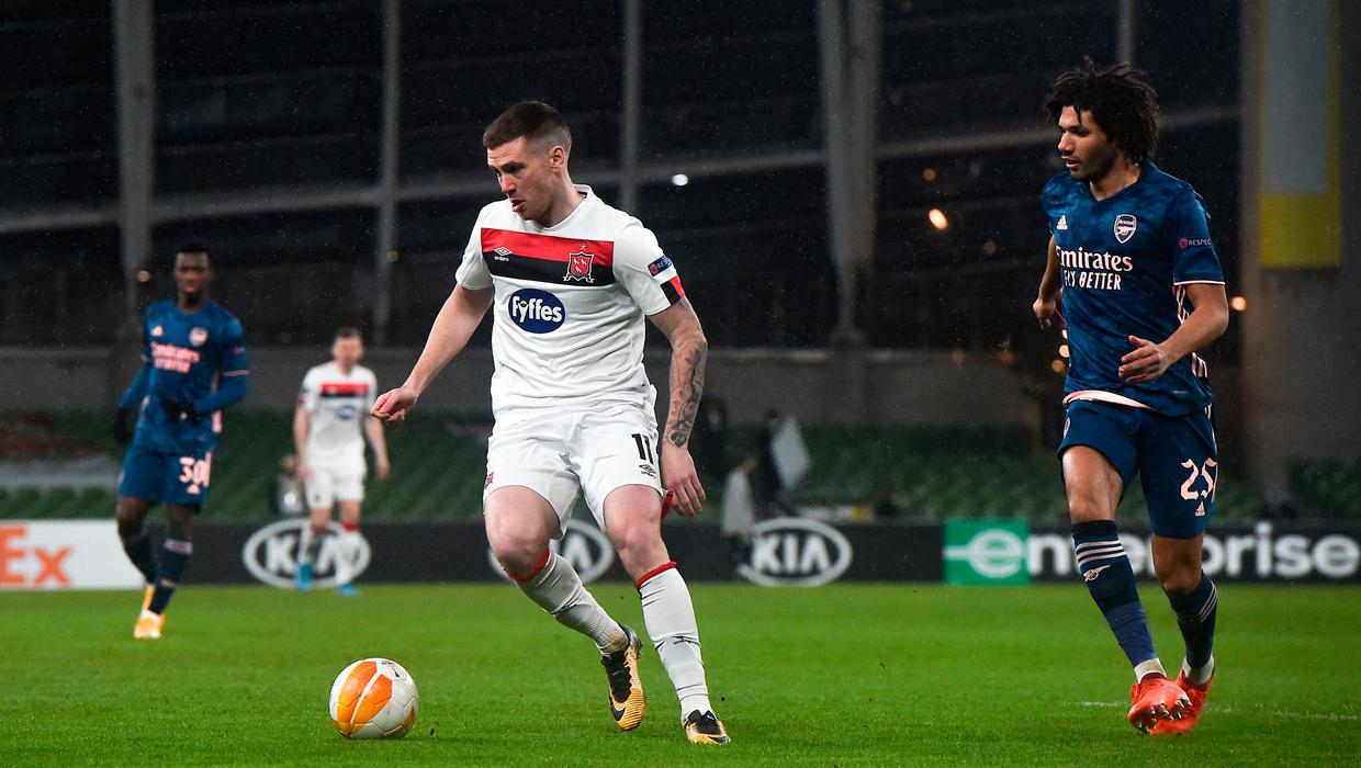 'We are the only group in Ireland who could have done what we did' - McEleney hails Dundalk's spirit