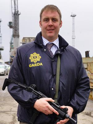 Detective Garda Adrian Donohoe, who was shot dead in January 2013