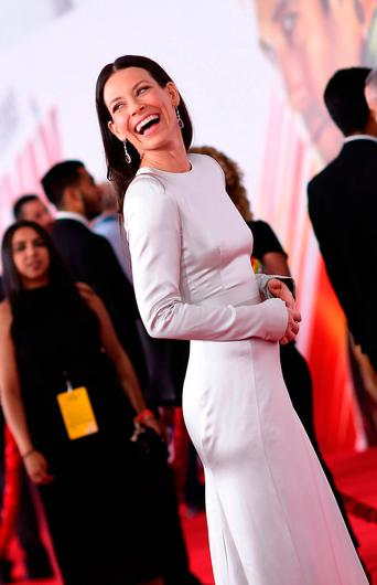 """US actress Evangeline Lilly attends the World Premiere of Marvel Studios' """"Ant-Man and The Wasp"""" at the El Capitan Theater, on June 25, 2018, in Hollywood, California. / AFP PHOTO / Valerie MACONVALERIE MACON/AFP/Getty Images"""