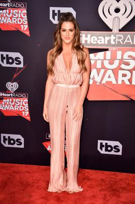 TV personality JoJo Fletcher attends the 2017 iHeartRadio Music Awards which broadcast live on Turner's TBS, TNT, and truTV at The Forum on March 5, 2017 in Inglewood, California.  (Photo by Alberto E. Rodriguez/Getty Images)