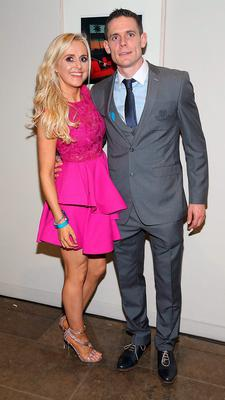 Stephen Cluxton and Joanne O Connor