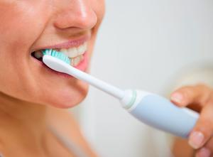 Electric toothbrushes leave a high carbon footprint. Stock picture