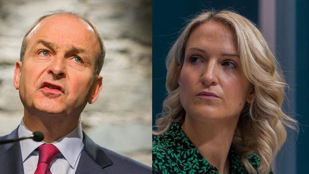 Helen McEntee was angered by Micheal Martin's comments on her role in Brexit negotiations.