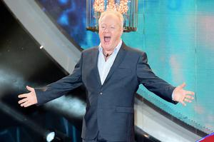 Keith Chegwin entering the Celebrity Big Brother house at the start of the latest series of the Channel 5 programme at Elstree Studios, Borehamwood. PRESS ASSOCIATION Photo. Picture date: Wednesday January 7, 2015. Photo credit should read: Ian West/PA Wire