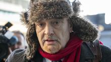 16/12/19 Ian Bailey (62), with an address at The Prairie, Liscaha, Schull, West Cork, at the High Court. PIC: Collins Courts