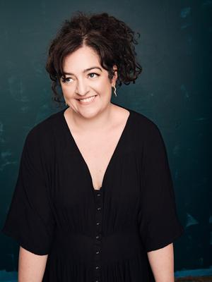 Comedian Maeve Higgins is in the middle of writing another book. Photo: Mindy Tucker
