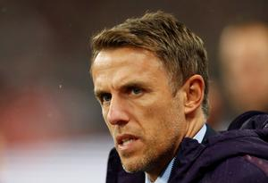 England manager Phil Neville. Photo: Reuters/Andrew Boyers