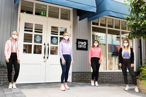 Irish-owned Gym + Coffee has opened a new pop-up store at Kildare Village. The athleisure brand's first shop opened in 2018. The new store in Kildare is the brand's sixth pop up