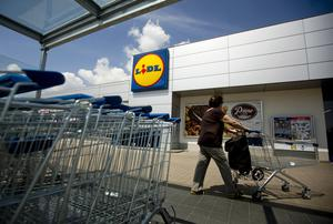 Lidl's market share is up 12.2pc