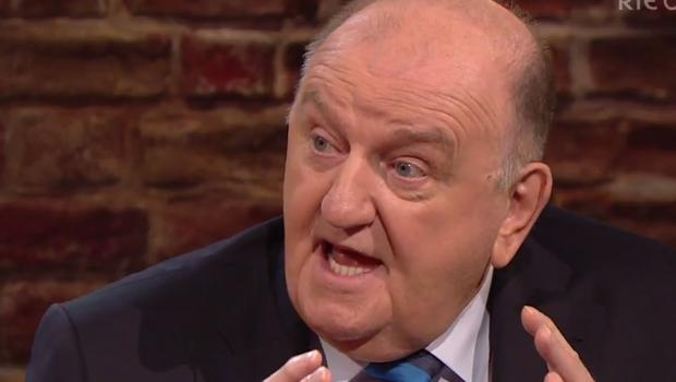 George Hook on The Late Late Show