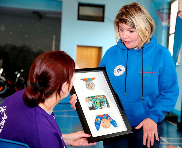 Dóchas Women's Prison gets behind Special Olympics Ireland's annual collection day on Friday April 22nd. Photo: Marc O'Sullivan