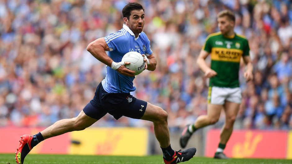 Panel beating: While the inter-county retirement of Michael Darragh Macauley (pictured) was no surprise, the expected opting out of Paul Mannion for 2021 is a surprise setback for Dublin manager Dessie Farrell. Photo: Sportsfile