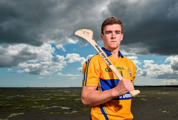 Tony Kelly pictured ahead of Clare's Bord Gais U-21 semi-final against Antrim. Photo: Ramsey Cardy / SPORTSFILE