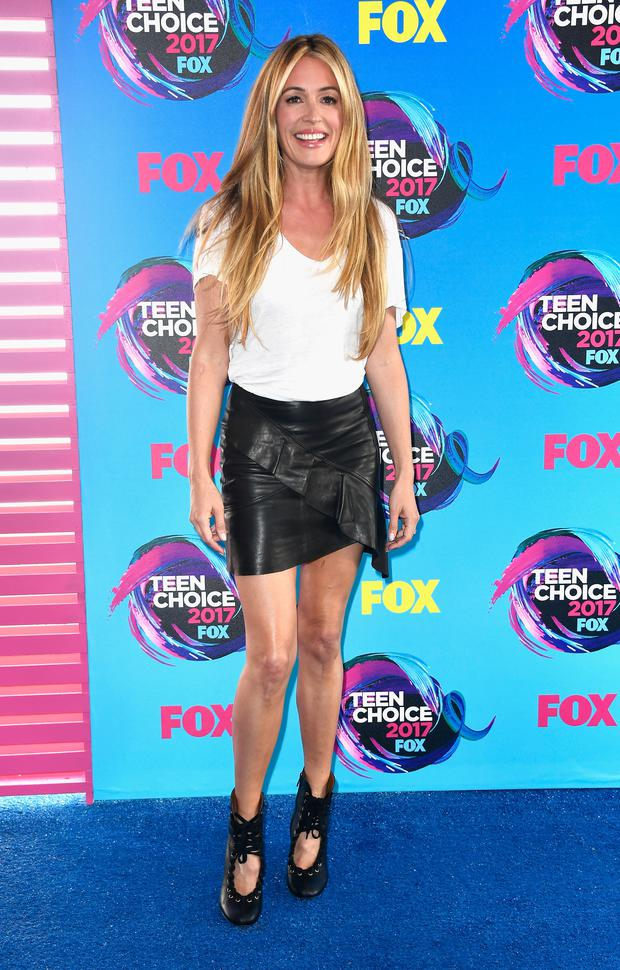Cat Deeley attends the Teen Choice Awards 2017 at Galen Center on August 13, 2017 in Los Angeles, California. (Photo by Frazer Harrison/Getty Images)