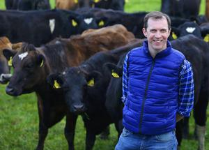 Darragh McCullough pictured on his farm in Stamullen, Co. Meath. Picture credit; Damien Eagers / INM