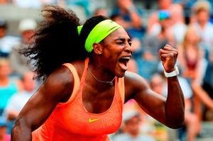 Williams was far from dominant in the second round of the US Open last night, before pulling ahead and pulling out a 7-6 (5), 6-3 victory over Kiki Bertens