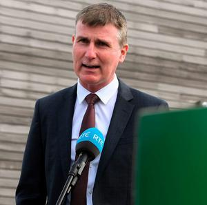 Manager Stephen Kenny speaks to media following his Republic of Ireland squad announcement at FAI Headquarters in Abbotstown. Photo: Sportsfile