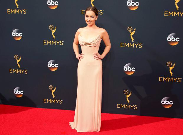 Actress Emilia Clarke from the HBO series