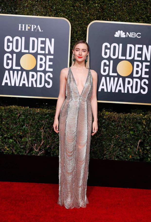 In Pictures Red carpet style at the Golden Globes 2019