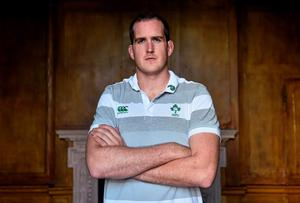 Devin Toner is grateful for Michael Cheika's 'tough love' approach that set him on his way with Leinster. Photo: Ramsey Cardy / SPORTSFILE