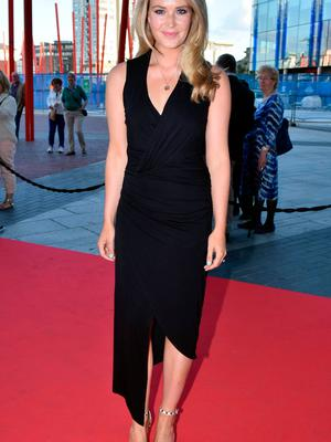 Aoibhin Garrihy at the opening night of The Sound of Music at the Bord Gais Energy Theatre in 2015