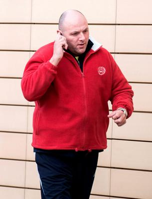 Thursday 29 October 2015. Blanchardstown DC: Martin Walsh of Rowlagh Gardens, Clondalkin, charged with assault, trespass and possession of weapons.